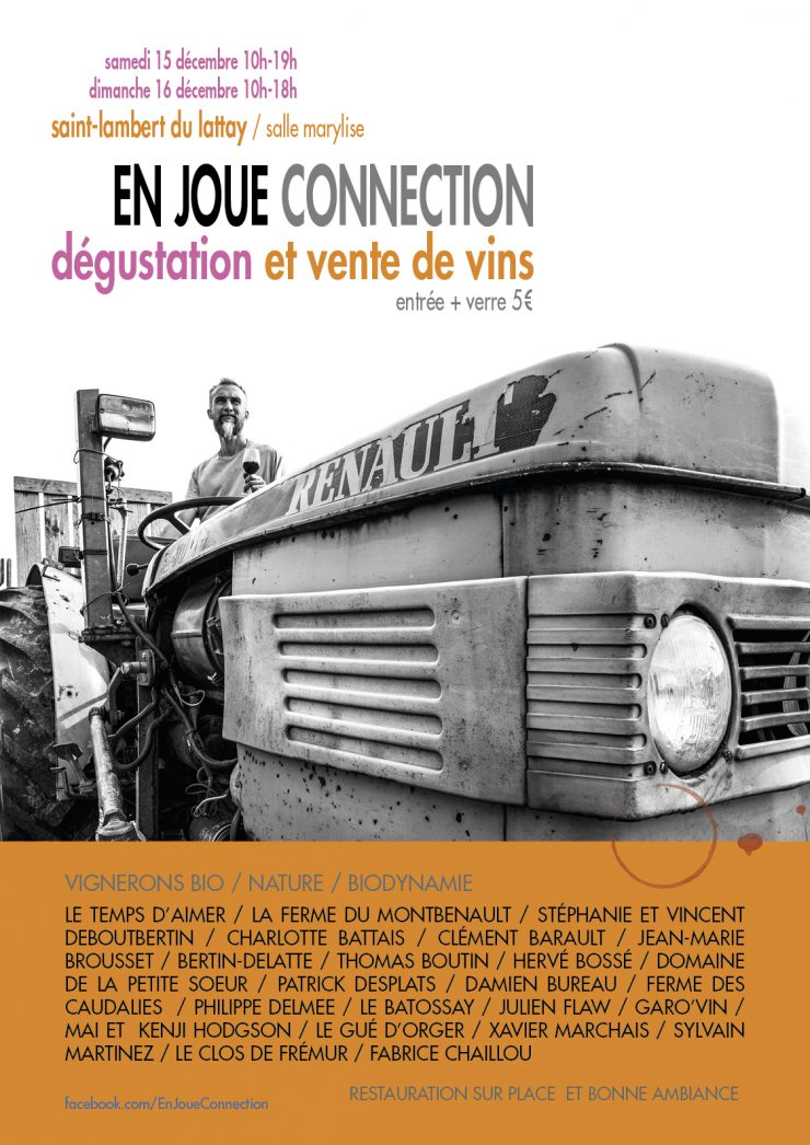 affiche en joue connection 2018